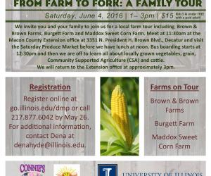 From Farm to Fork Tour